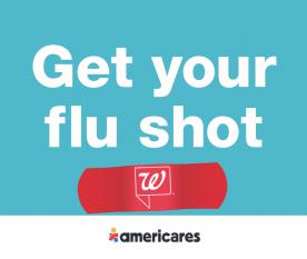 Walgreens Americares Flu Shot Logo